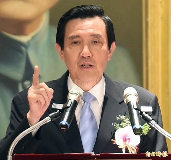 總統馬英九。(資料照,記者劉信德攝)