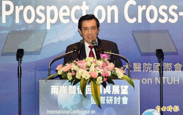 針對明天(15日)起將管制日本食品輸台,總統馬英九表示等政府調查清楚後,對社會有了交代,到時再開放。(資料照,記者羅沛德攝)