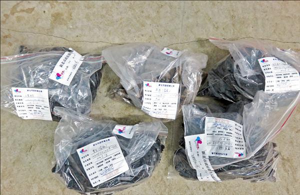 現場查扣二萬四千多公斤成品及半成品海參。(新北市衛生局提供)