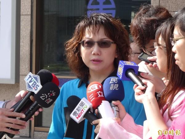 社民黨召集人范雲,她將參選明年的大安區立委選舉。(資料照,記者蘇芳禾攝)