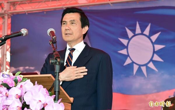 馬英九指出:「我怎麼卡?我又不是黨主席,又沒阻止他,我怎麼會去卡誰?」(資料照,記者張忠義攝)