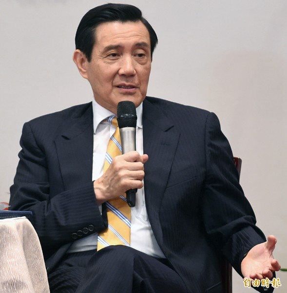 總統馬英九。(記者劉信德攝)