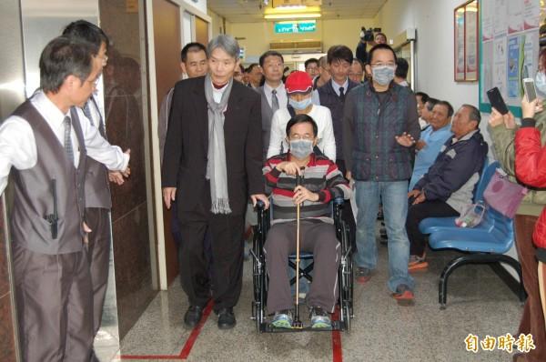 高市勞工局證實,前總統阿扁在今年二月農曆年後申請看護,印尼籍(資料照,記者楊金城攝)
