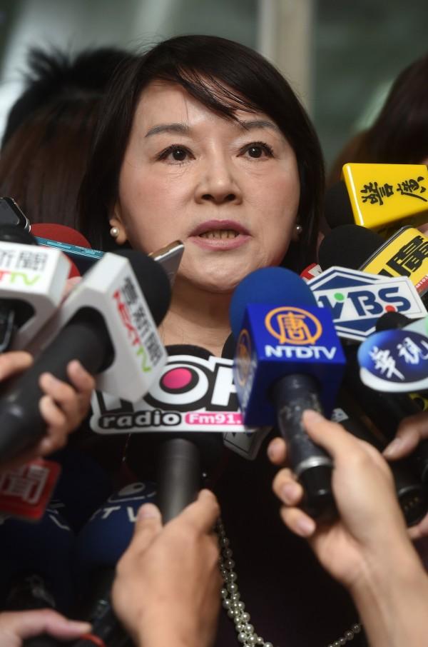 羅淑蕾爆冷於立委黨內初選輸給蔣萬安,周玉蔻直言,羅是咎由自取。(資料照,記者簡榮豐攝)