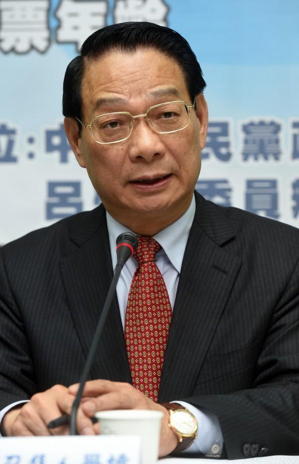 國民黨立委呂學璋擔憂,若下修被選舉人年齡,可能會被民進黨拿來作利益交換。(資料照,記者簡榮豐攝)