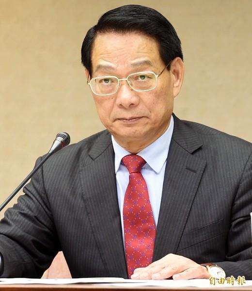 國民黨召委呂學樟。(資料照,記者羅沛德攝)