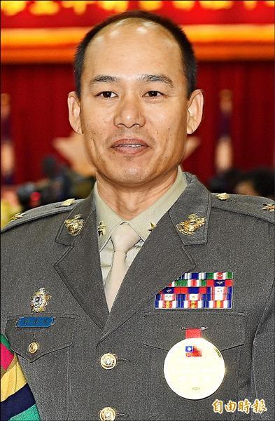 陸戰隊九九旅旅長劉豫屏少將(資料照,記者王敏為攝)
