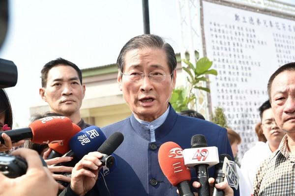 中華統一促進黨總裁,同時也是竹聯幫大老的「白狼」張安樂表示,他欣賞洪秀柱的膽識,若洪秀柱出線參選2016總統大選,他將全心支持。(資料照,記者張忠義攝)