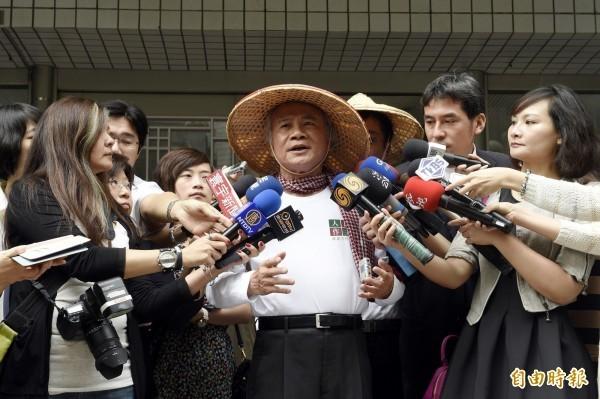 民進黨前主席林義雄昨日痛批,民進黨禮讓這13個艱困選區給第三勢力根本是「混帳」。(資料照,記者叢昌瑾攝)