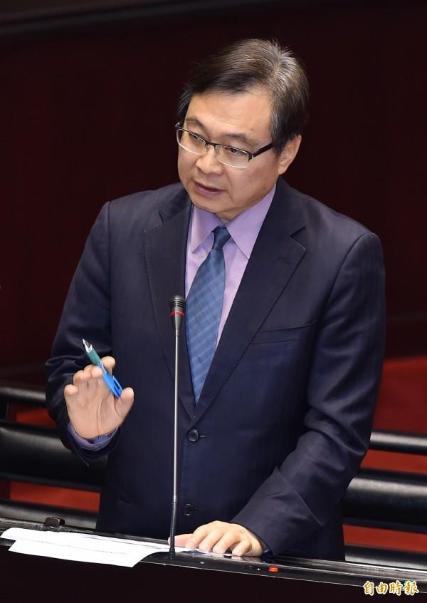 紀國棟諷刺,國民黨的「防磚機制」只能「防洪」?(資料照,記者廖振輝攝)