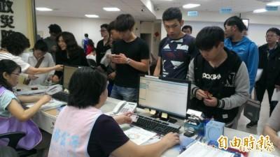 明年大專畢業生可申請到企業服替代役(資料照,記者何玉華攝)