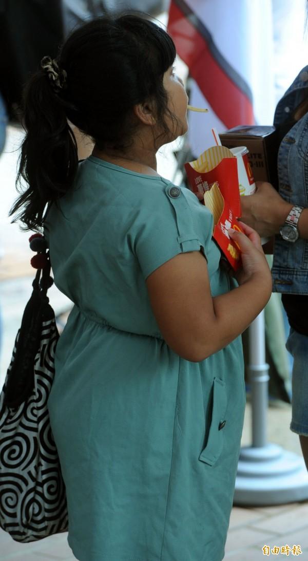研究指出,青春期肥胖罹大腸癌機會比一般人多2.38倍(資料照,記者王敏為攝)