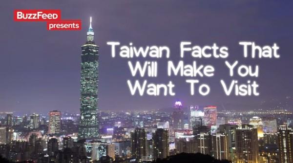 Buzzfeed拍出一段名為「一定要去台灣的8個理由」影片。(圖取自YouTube)