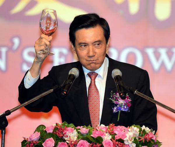 談世界競爭力,馬英九表示自己表現比前任「稍微好一點」。(資料照,記者林正堃攝)