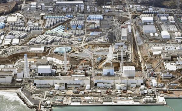 日本福島第一核電廠廠區,再發生含有放射物質的污水外洩的問題。(路透)