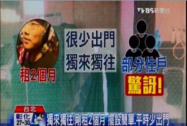 台北市北投區割喉殺童案嫌犯龔重安獨居10坪加蓋屋,鄰居稱對他的印象不錯,不少鄰居得知龔殺童後大多感到驚訝。(圖擷自《TVBS新聞台》)