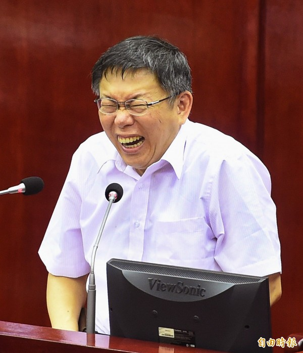 監察院公布,台北市長柯文哲申報的政治獻金為1億3千多萬元,比連勝文還多出近3千萬元(資料照,記者方賓照攝)