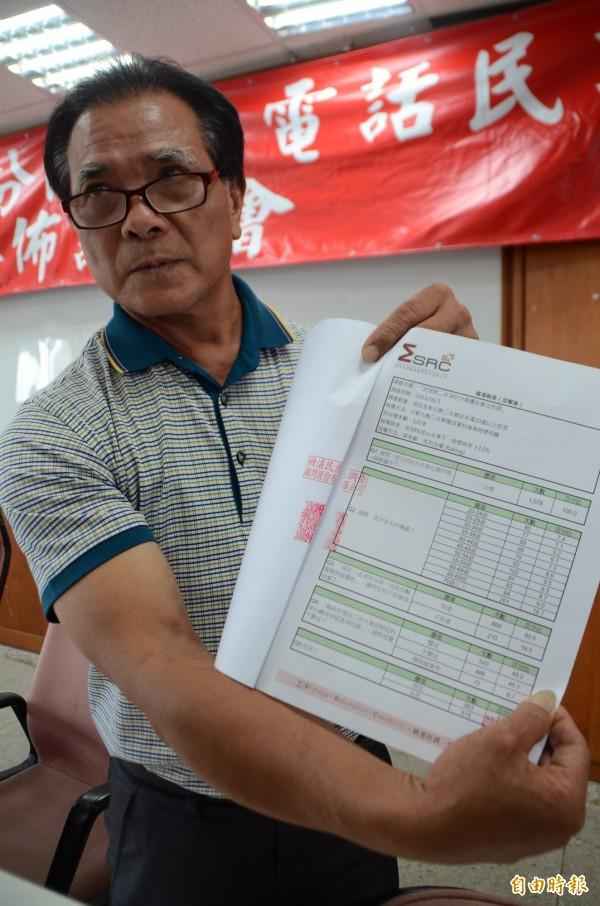 二水消防隊遷址民調結果公佈,鄉長鄭蒼陽表示,尊重多數民意。(記者顏宏駿攝)