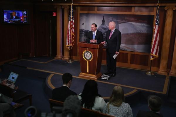 美國參議院2日也通過這項法案,意即美國國家安全局(NSA)不能擅自監控、蒐集民眾的通訊紀錄。(法新社)