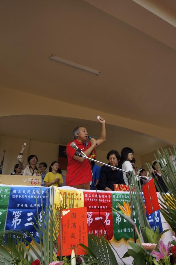 武陵高中校長林清波。(資料照,記者林近攝)