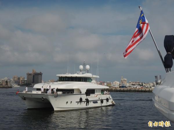 遊艇跳島遊可望為澎湖帶來頂級客。(記者劉禹慶攝)