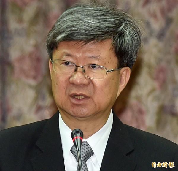 教育部長吳思華。(記者簡榮豐攝)