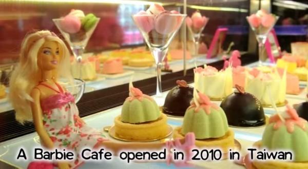 「芭比餐廳」驚傳吹熄燈號。(圖取自YouTube)