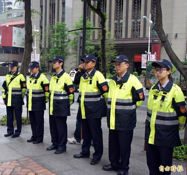 警察。(資料照,記者賴筱桐攝)