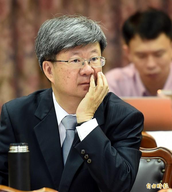 教育部長吳思華表示,將爭取第二預備金增進校園安全(記者方賓照攝)