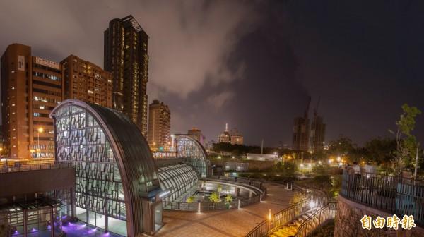 捷運大安森林公園站奪得今年全球卓越建設獎公部門基礎建設的首獎。(捷運局南工處提供)
