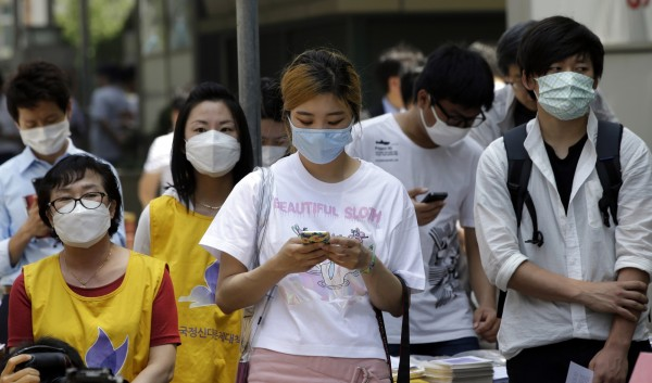 南韓MERS疫情持續擴大。(美聯社)