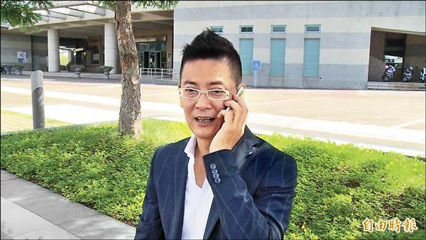 前國民黨立委張碩文(記者林國賢攝)