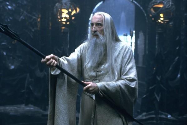 克里斯多福李在《魔戒》飾演白袍巫師。(取自網路)