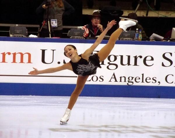 關穎珊曾多次獲得世界滑冰冠軍。(圖擷自關穎珊wikipedia)