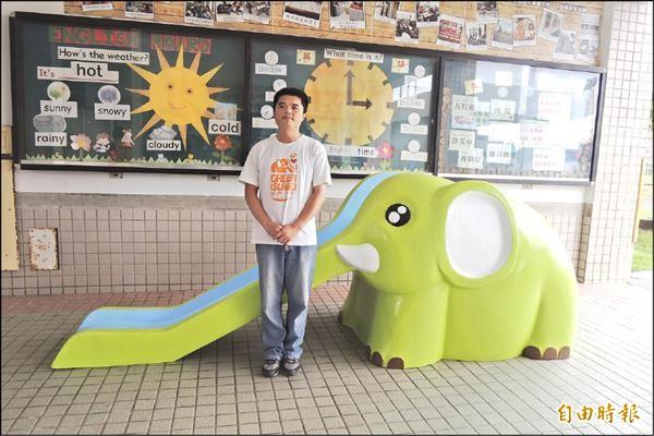 「綠島大象計畫」近日已申請通過成為社會企業,發起人李孟發表示,將持續推動環境教育。(記者張存薇攝)