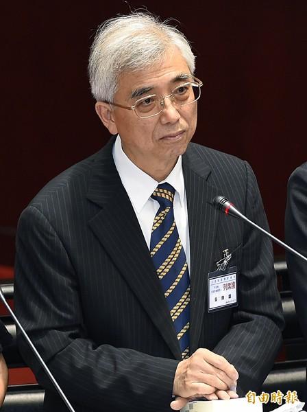 大法官被提名人吳陳鐶。(記者廖振輝攝)