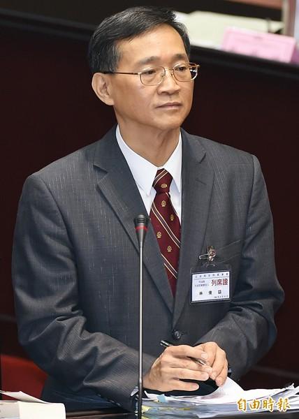 大法官被提名人林俊益。(記者廖振輝攝)
