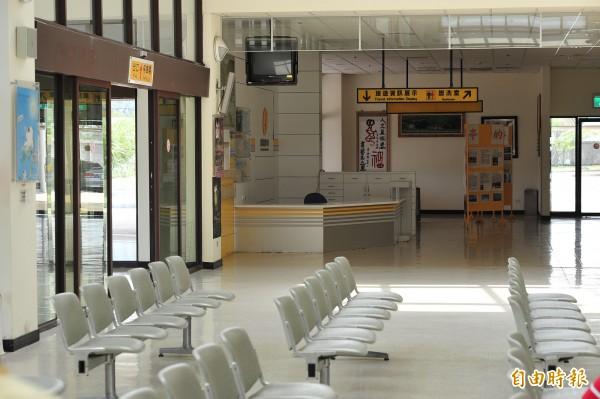 恆春機場近年營運慘澹,每週兩班航次幾乎停擺。(資料照,記者蔡宗憲攝)