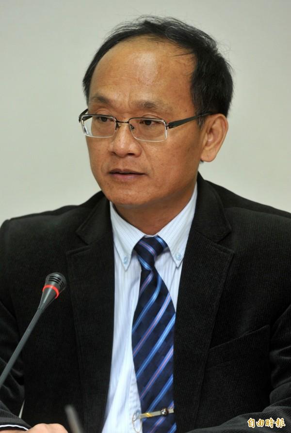 台中監獄前副典獄長趙崇智。(資料照,記者簡榮豐攝)