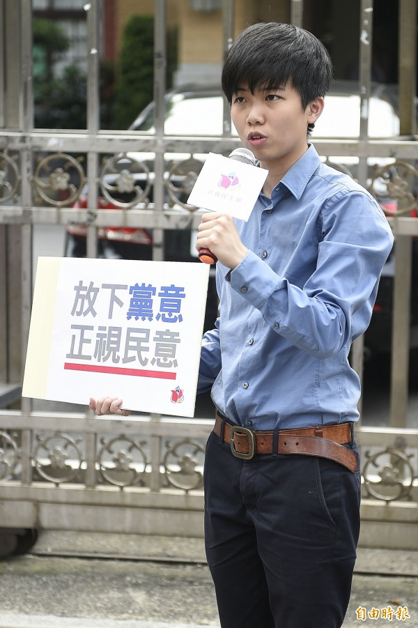 社民黨立委參選人苗博雅表示,改天可能會找時間和女友一同前往註記。(資料照,記者陳志曲攝)