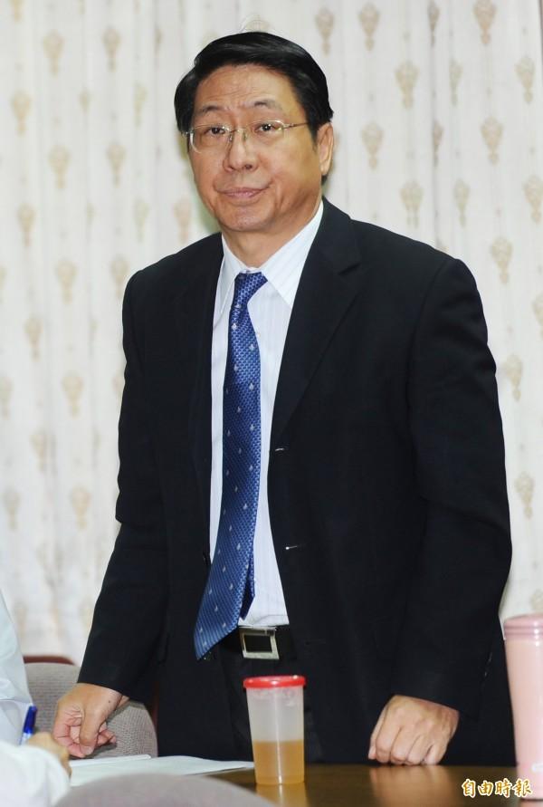 綠島監獄前典獄長蘇清俊。(資料照,記者張嘉明攝)