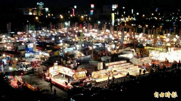 台南花園夜市。(資料照,記者林孟婷攝)