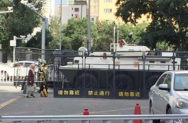 新疆爆發警民衝突,傳至少已釀11人死亡。(圖片擷取自東網)