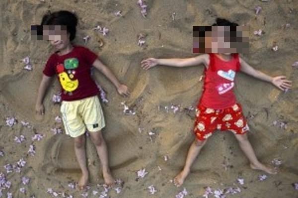 泰國父母為了要讓孩子長命,讓龍鳳胎7歲就結婚。圖與新聞無關。(路透)
