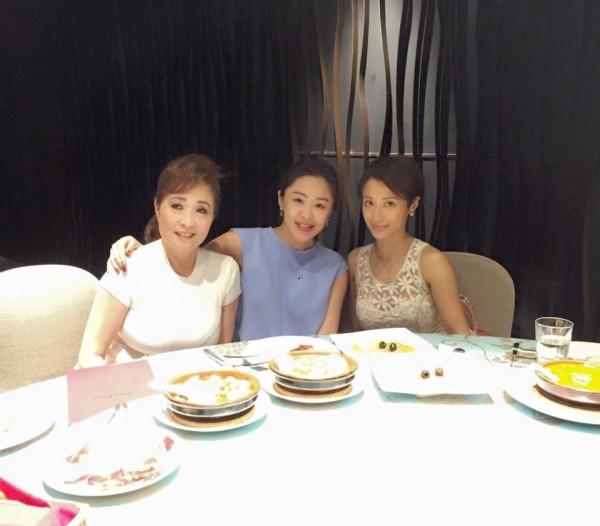 李婉鈺說,和李蒨蓉從10幾歲就認識,兩人是交心的朋友。(圖擷取自李婉鈺臉書)