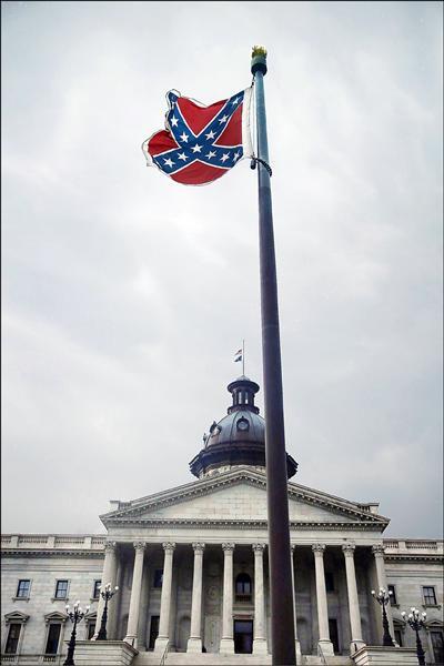 撤下邦聯旗幟的聲浪高漲。(法新社)