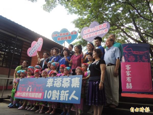 高雄客家有囍婚禮訂11月14日週六舉行。(記者王榮祥攝)