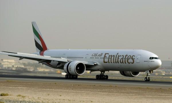 飛機上有老鼠,阿聯酋航空停飛返回。(資料照,法新社)
