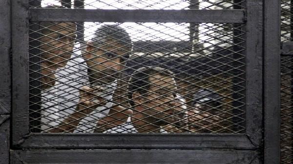 保護記者委員會(CPJ)調查發現埃及至少囚禁了18位記者。(美聯社)
