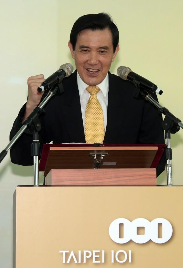 總統馬英九昨天(25日)表示,從自己上任7年來至今,全國刑案破獲率上升到86%,(資料照,記者王敏為攝)